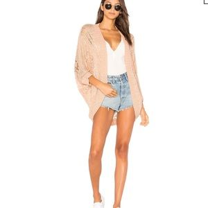 BB DAKOTA Kat Cacoon Sweater In Parchment Sz Small